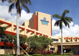 Broward Health North building.