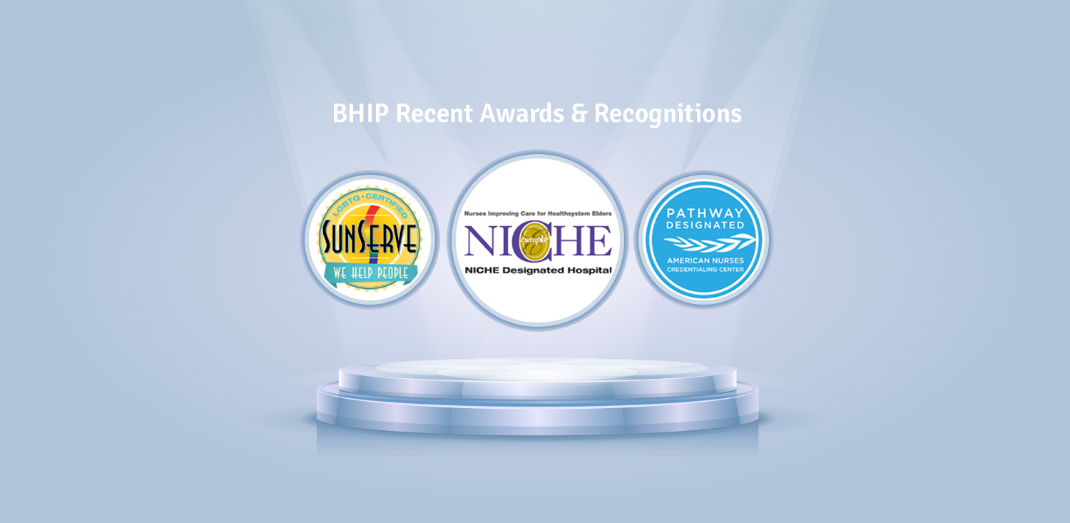 BHIP Recent Awards
