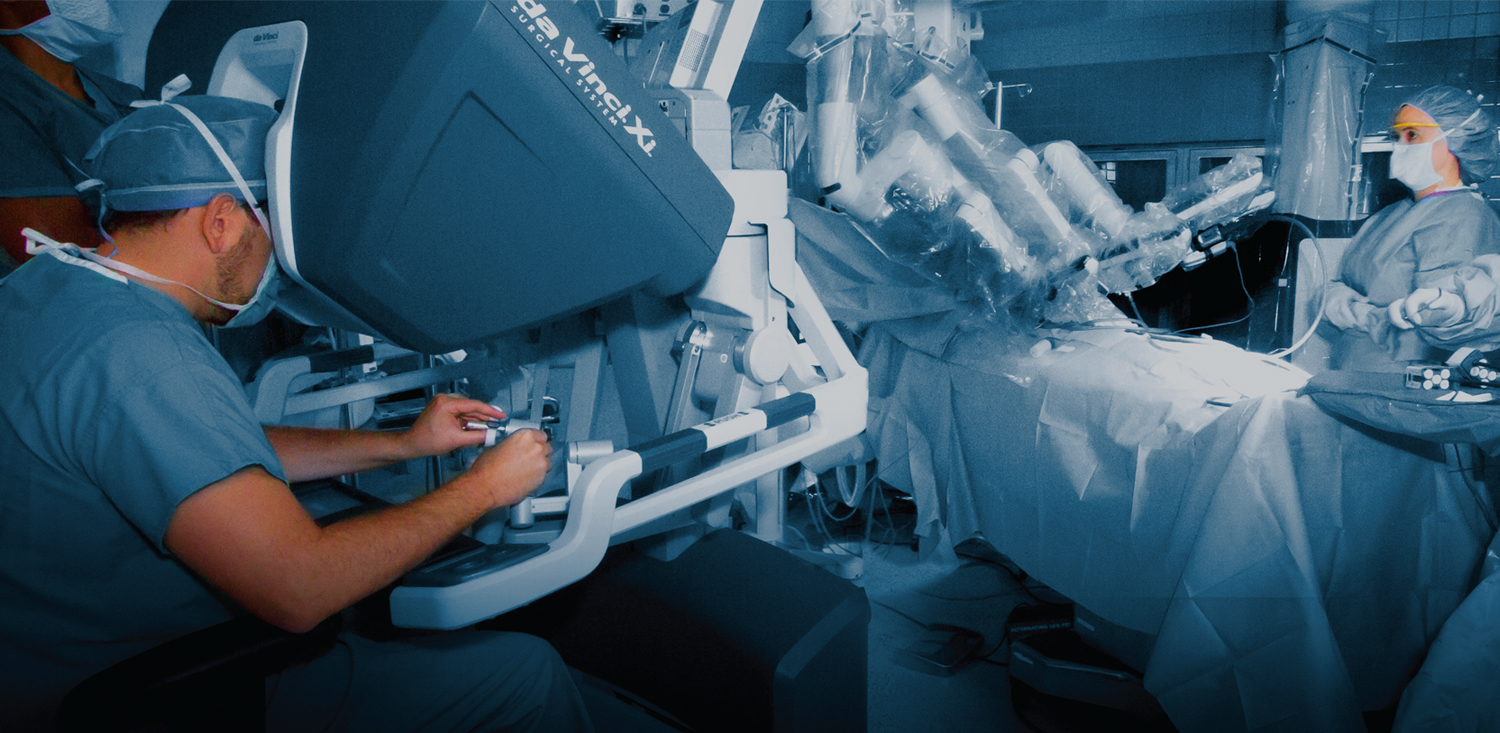 DaVinci Surgery Robot at Broward Health Imperial Point