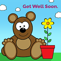 Get Well Bear Image